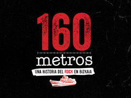 Diseño de grafismo para documental 160 metros