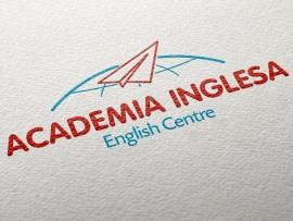 diseño de logotipo para Academia Inglesa