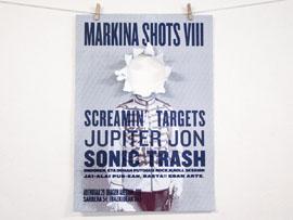 Diseño de carteles para Markina Shots 8