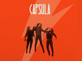 Diseño de portada de disco y cartel para capsula