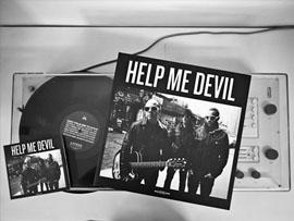 Diseño portada disco help me devil