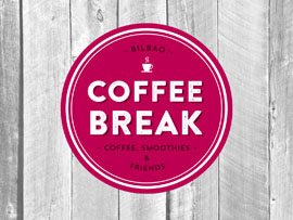 Diseño de marca para Coffee Break