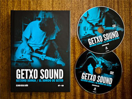Diseño de libro Getxo Sound