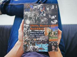Diseño libro rock en Bilbao