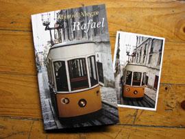 Fotografía de portada para el libro rafael de Manuel Alegre