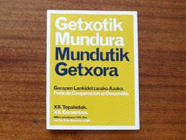 Diseño materiales feria Getxotik Mundura