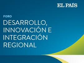 Diseño de imagen para Foro Desarrollo, innovación e integración regional